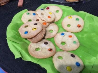 Art Festival Palette Cookies