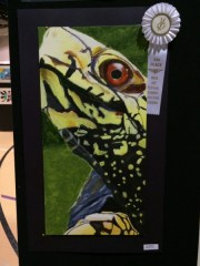 Dynamic Composition Wild Animal Acrylic Painting