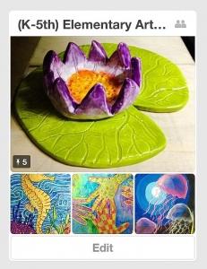 (K-5) Elementary Art Lesson Plans Pinterest