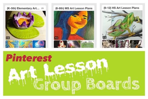 Art Lesson Plans Pinterest Group Boards