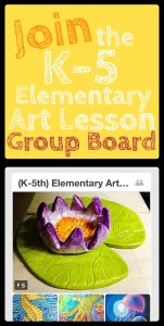 (K-5) Elementary Art Lesson Plans Pinterest