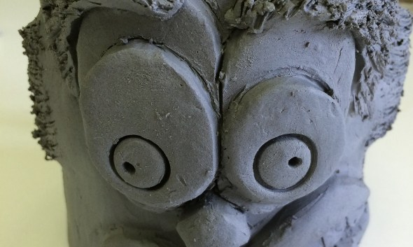 Funny Face Mugs Slab Ceramics Lesson