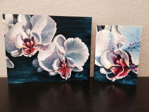 White Orchids by Michelle C. East