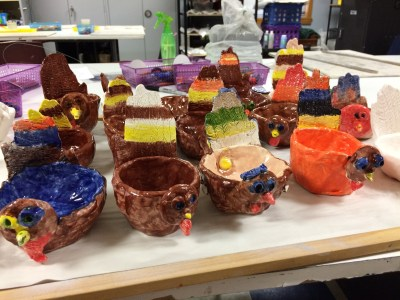 Turkey bowl Ceramic Lesson