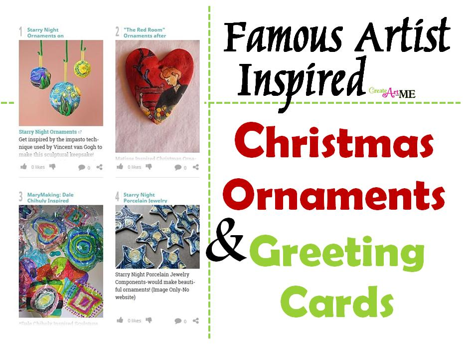 Famous artist inspired christmas ornaments and greeting cards famous artist inspired christmas ornaments and greeting cards m4hsunfo