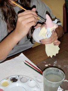 Ceramic Roll a Beast Creature Art Lesson