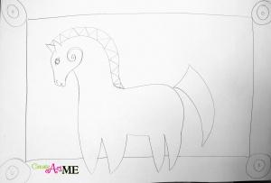 Laurel Burch Horses