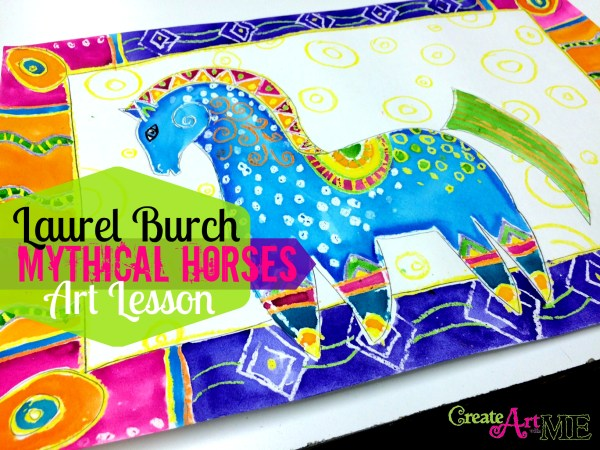 Laurel burch horses