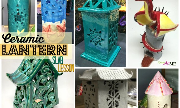 Ceramic Lantern Slab lesson