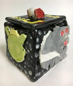 Ceramic Slab Themed Boxes
