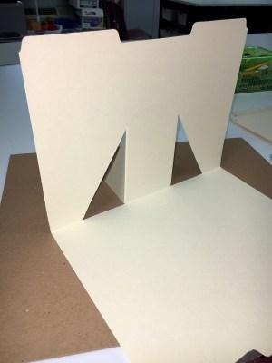 DIY Folder Background for Small Still Life Drawings
