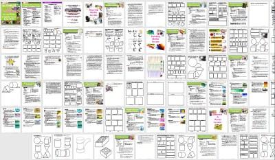 ULTIMATE Art Technique Lesson Plans & Worksheets PACKET