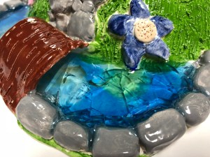 Clay Slab Fairy House Gnome Home Art Lesson