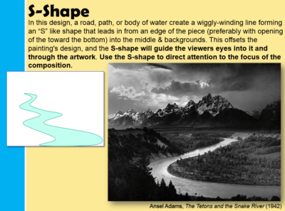 S Landscape Composition