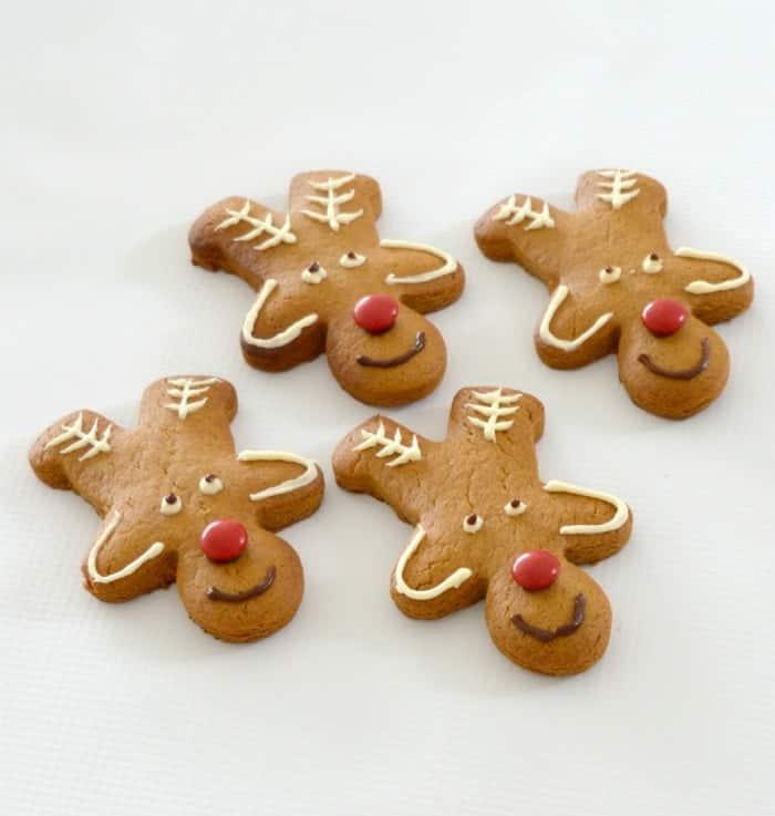 Christmas Reindeer Biscuits Create Bake Make