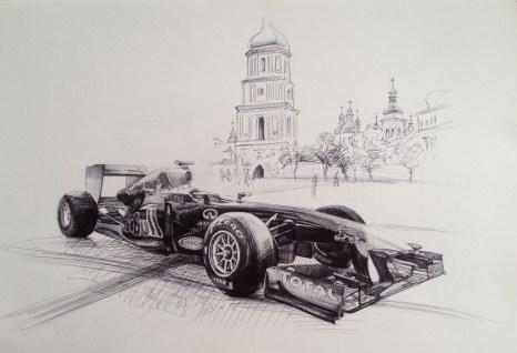 Sketch3, pen on paper