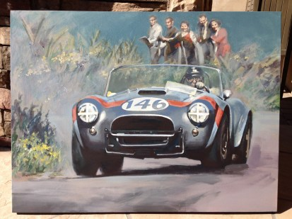 Shelby - original painting acrylic on canvas