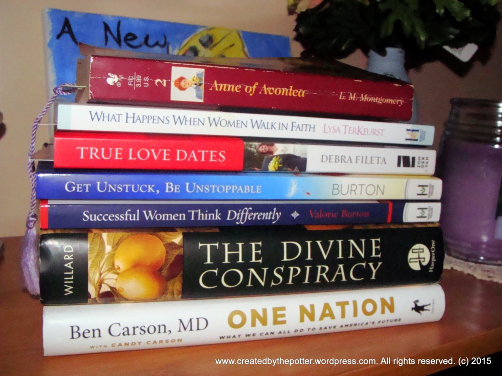 Books I Am Determined To Finish Reading This Month