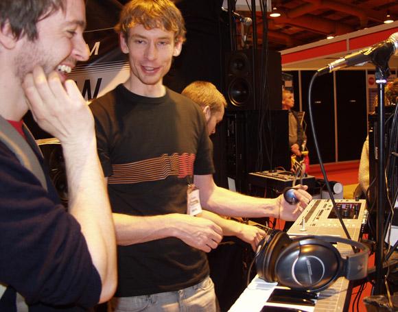 Daniel Hansson of Elektron