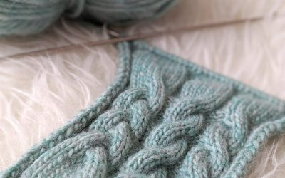 Teach Yourself to Knit: Cables