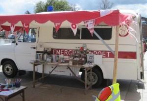 Emergency Poet ambulance