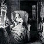gothic novel - Catherine reading