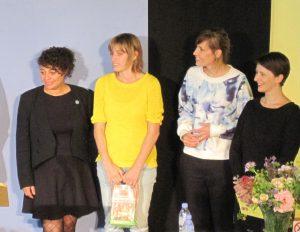 Karen McCarthy Woolf (UK), Kim Moore (UK), Judith Nika Pfeifer (Austria), Samantha Barendson (France)