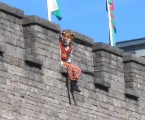 Fantastic Mr Fox on Cardiff Castle