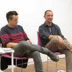 Cynan JoneCynan Jones & Tom Bullough at Cardiff Book Festival