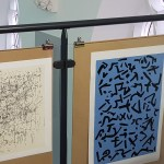 Artwork created by Tig Sutton using handwritten text