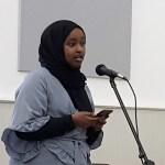 Poet Amiina Mohamoud