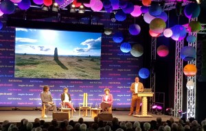 English Heritage Panel event at Hay Festival