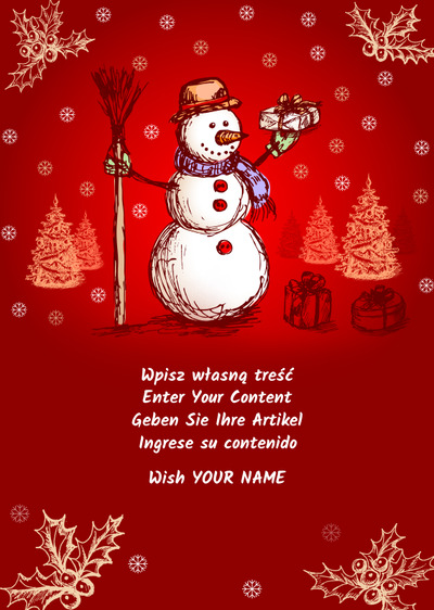 Christmas Cards Create Your Own Card For Free And