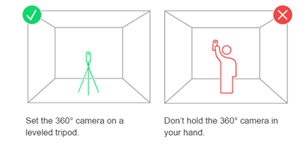 Set camera height for accurate measurements