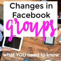 What's Changing in Facebook Groups