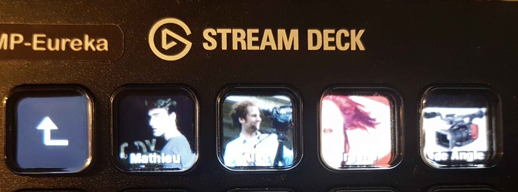 streamdeck as mixer