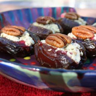 Small Bites with Cranberry Sauce
