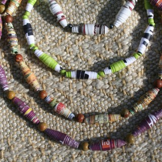 How to make paper beads