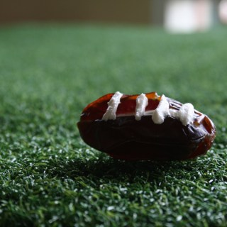 Stuffed Date Footballs