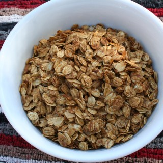 Maple and Molasses Granola
