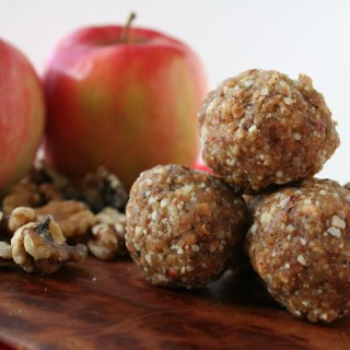 Apple Walnut Balls
