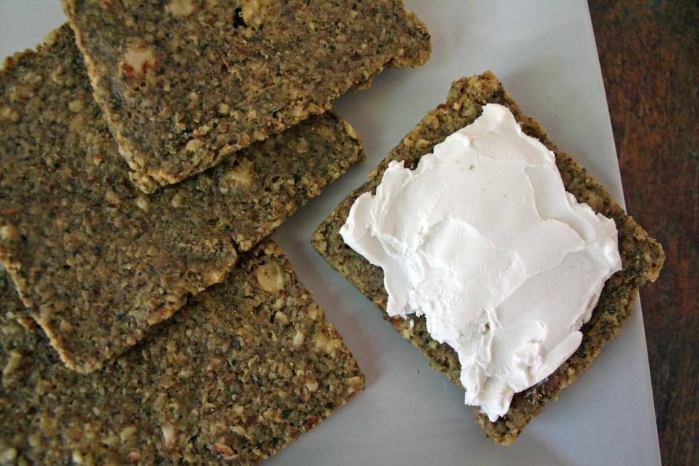 Zucchini Walnut Crackers