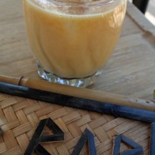 Coconut Mango and Tea Cocktail