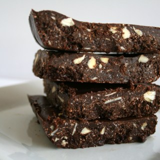 Raw Chocolate Coconut Almond Bark