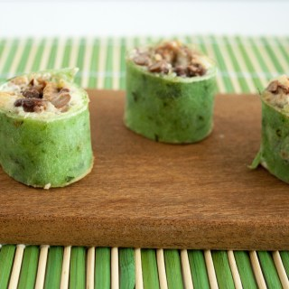 Sweet Potato and Black Bean Pinwheels