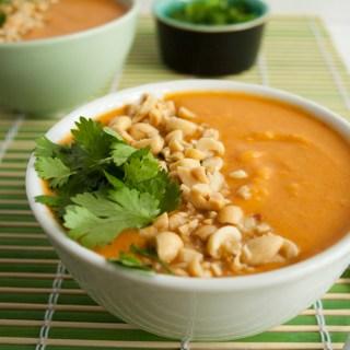 Thai Curry Butternut Squash Soup