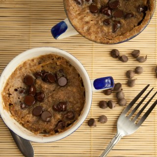 Peanut Butter Chocolate Chip Mug Cake
