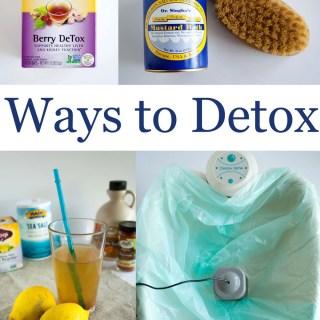 Ways to Detox
