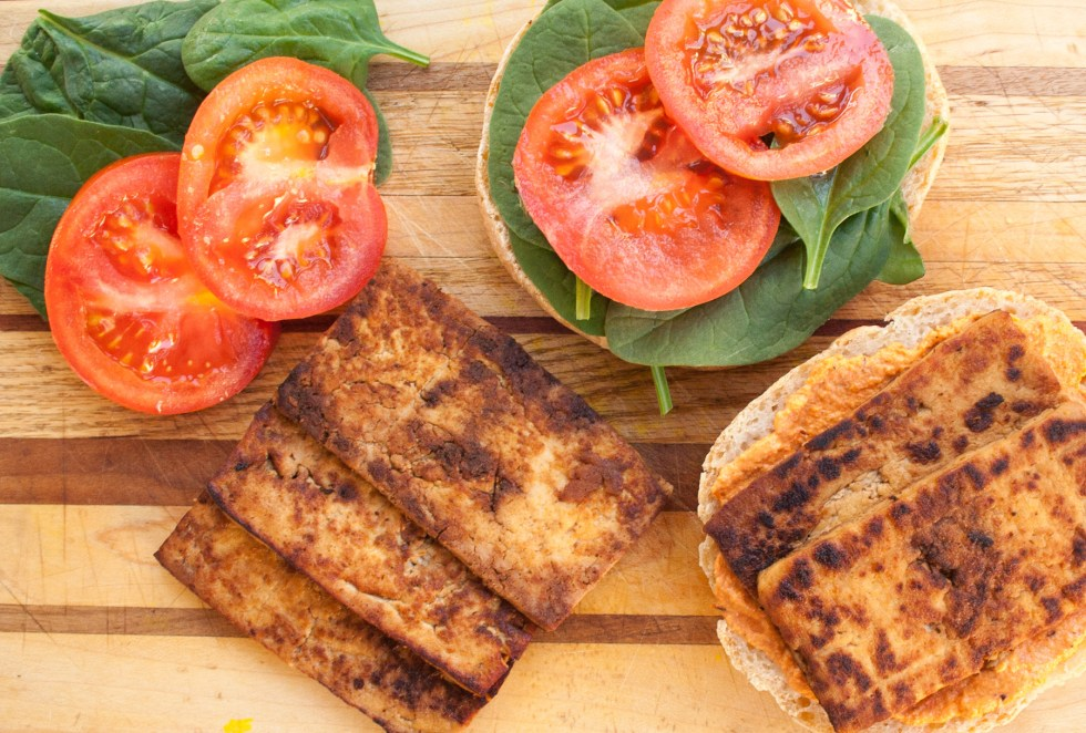 Tofu Bacon - Add this vegan bacon to your favorite sandwich (like a vegan BLT), or a salad. It is smoky and sweet.