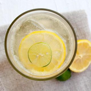 Easy Homemade Lemon Lime Soda